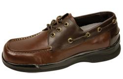 Mens Strap Diabetic Shoes - 44837. Zoom